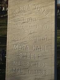 Myra Hall Steele (1892-1983) - Find A Grave Memorial