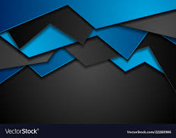 Blue And Black Corporate Material Background