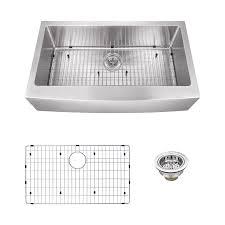 Kitchen Sinks  Cool Apron Front Farmhouse Sink 24 Inch Farmhouse 30 Inch Drop In Kitchen Sink