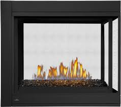 napoleon bhd4pgn ascent peninsula with glass direct vent gas wolf steel fireplace remote electric