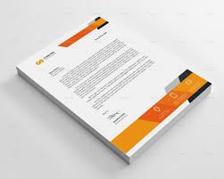stationary template for word 25 best letterhead templates for all types of business images on
