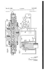 patent us2614539 fluid pressure actuated reversing valve for patent drawing
