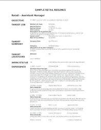 Retail Resume Objective Examples Best Of Resume Objective For Retail And Retail Sales