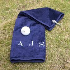 duncan stewart textiles personalised velour golf towel