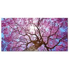 canvas print painting pic photo wall art home decor fl tree landscape 20x40