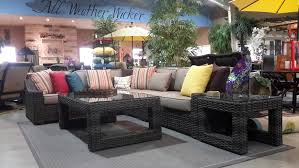 regatta woven sectional seating ideal target patio furniture of georgetown fireplace and patio