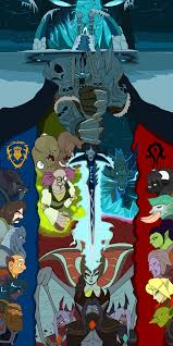 The Fall Of The Lich King Poster By Droll3 Fur Affinity Dot Net