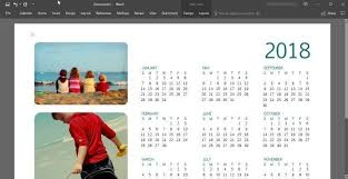 calendar office how to create 2018 calendar using office word or excel