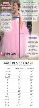 Tutu Measurement Chart How To Measure For Our Products