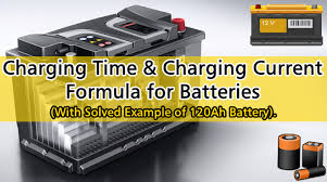 How To Calculate The Battery Charging Time Battery
