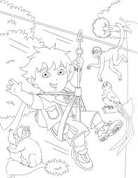 Nice Diego Free Coloring Pages Photos