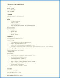 Sample Resume For Office Staff Sample Resume Skills List Sample Chruch Secretary Resume With List 52