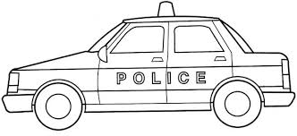 Small Picture Coloring Pages Police Car FunyColoring