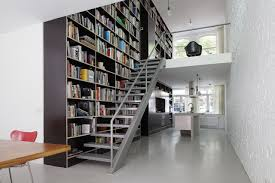 ... Home Decor, Modern Home Library Small Home Library Design Ideas Library  Vertical Loft Shift Architecture ...