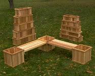 cedar garden box. Cedar Planter Box P 42 Garden D