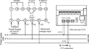kw1m r eco power meter dimensions automation controls single phase three wire system three phase three wire system two dedicated current transformers ct are required