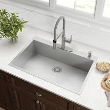 Kraus Launches New Modern Pax Topmount Kitchen Sink Series Kbis