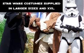 Plus Size Star Wars Fancy Dress Costumes