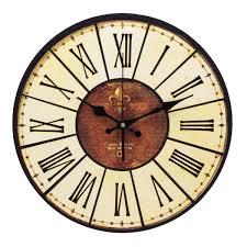 Yesurprise Pendule Murale En Bois Mdf Rond Horloge Diy Vintage En Bois Sur Pinterest Horloge En Bois Horloges Murales Et Murs De
