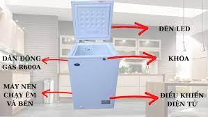 Tủ đông mini Sanden Nhật, nhập khẩu Thái Lan | Tủ đông, Tủ mát Nhật