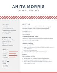 About Me In Resume Stunning Minimalist Videographer Resume Templates By Canva