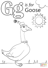 letter g coloring pages preschool 31