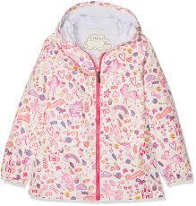Hatley Raincoat Size Chart Amazon Com Hatley Unicorn Doodle Rain Jacket 8 1 Ea Baby