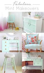 green colored furniture. Awesome Roundup Of Furniture Makeovers Done With Mint So Much Great Inspiration For This Green Colored G