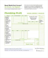 Plumbing Service Invoices Bethpowell Design