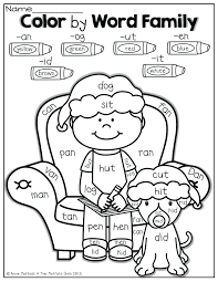 Word Family Coloring Pages Number Words Coloring Sheets Smithfarmspa Com