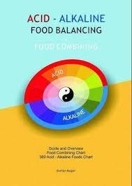 Acid Alkaline Food Combining Chart Acid Alkaline Stefan Mager 9780987166821