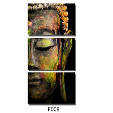 buddha painting wall art painting picture paiting 3 panel canvas paints home decor hd print painting wall art picture unframed in painting calligraphy