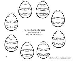 Free Easter Coloring Pages To Print Easter Eggs The Color Jinni