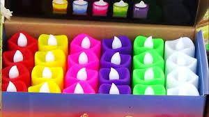 Designer Candles Wholesale India Colorful Designer Candles For Diwali At Bazi Bazar Kolkata 2016