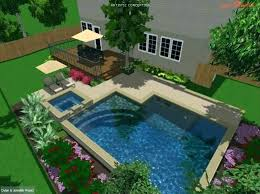 Small Pool Designs For Small Backyards Enchanting Small Backyard Pool Ideas Small Backyard Inground Pool Ideas