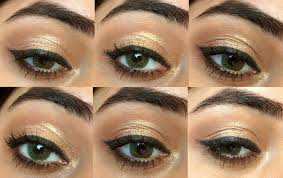 super easy party eye makeup