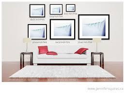 large wall art above sofa horizontal