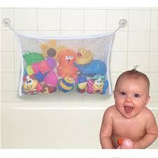 kids toys kids premium baby bath toy storage organizer large size bath toy bag net bathroom accessories
