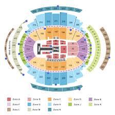 Madison Square Garden Seating Chart New York