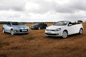 Volkswagen Golf Cabriolet vs rivals | Group tests | Auto Express