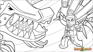 Printable coloring page for LEGO Ninjago Zane And His Ice Dragon Coloring  Page, Wallpaper   Ninjago coloring pages, Dragon coloring page, Lego coloring  pages