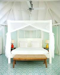 bed hanging canopy covet worthy beds co tied go for an airy feel with just a