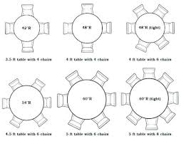 inspirational 5 foot round table seats how many runner