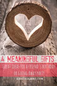 meaningful gift