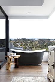 view gallery bathroom modular system progetto. Bathrooms: Smart Blend Of Bath And Shower In The Narrow Bathroom View Gallery Modular System Progetto