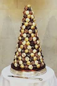 Wedding Cakes Chocolate Croquembouche Christmas In 2019