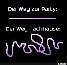 Der Weg Zur Party Nachhause Lustige Bilder Sprüche Witze Echt