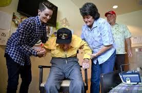 Utah family asking for 101 birthday cards for WWII vet's birthday - Deseret  News