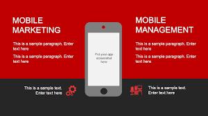 Red Portfolio Powerpoint Template Slidemodel