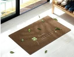 very thin door mats kitchen corridor ultra thin rug rubber bottom doormat anti skip embroidery rub very thin door mats